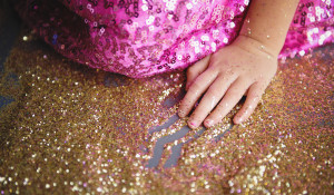 We believe you can never have too much glitter...or coverage!