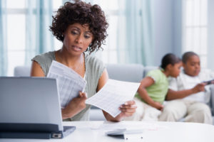 Financial worry about life insurance
